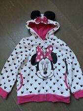 New listing Disney Minnie Mouse Toddler Girl Sweatshirt Jacket Zip Up Hoodie Size 4T
