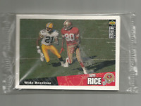 1996 UPPER DECK COLLECTOR'S CHOICE-SAN FRANCISCO 49ers SEALED TEAM SET