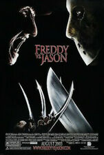 Freddy Vs Jason Original Movie Poster - Horror Double Sided 27x40 - Englund