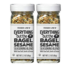 Trader Joe's Everything but The Bagel Sesame Seasoning Blend Pack of 2