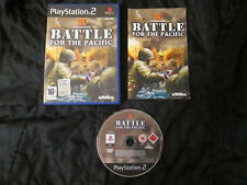 PS2 : THE HISTORY CHANNEL : BATTLE FOR THE PACIFIC - Completo !