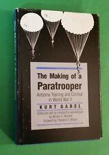 Kurt Gabel - The Making Of A Paratrooper - Airborne Combat World War 2 - hbdj