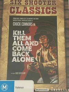 Kill Them All and Come Back Alone Chuck Connors DVD  Like New