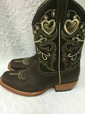 INNOVATiON Mid-Calf Western Style Boots Leather Size 6