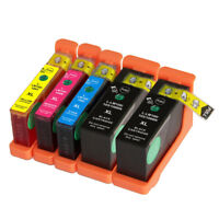 5 NON-OEM INK CARTRIDGE LEXMARK 100XL S305 S405 S505 S605 S815 S816 Pro205 705