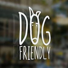 X1 Dog Adesivo amichevole, Caffè Shop, BAR, Cafe, ristorante, Tea Shop, B&B