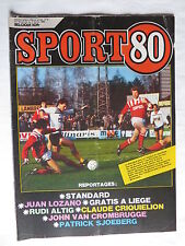 Sport 80 n° 5 – 29 janvier 1986 – Juan Lazano, Rudi Altig, Claude Criquielion, J