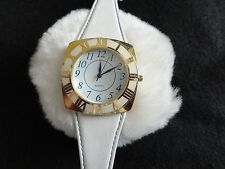 Avon Quartz Ladies Watch with a Leather Band