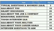 Interview Guide with Questions and Answers (PDF)