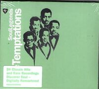 THE TEMPTAIONS-Soul Legends CD--BRAND NEW-Still sealed