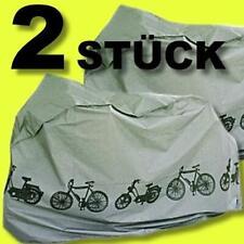 Set 2 Stück Fahrradgarage / n Abdeckhauben Schutzhauben Fahrradabdeckung