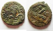 Zurqieh -aa8485- Byzantine . Maurice Tiberius Ii Constantine Ae Half Follis