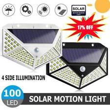 4 un. 100 LED Luz de Energía Solar Sensor De Movimiento Infrarrojo Pasivo Seguridad Jardín Lámpara De Pared