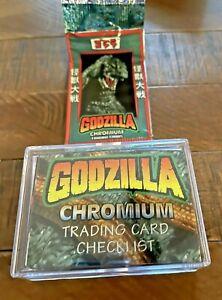 1996 JPP/Amada Godzilla Chromium 54 Card set. RARE! - Japanese!!