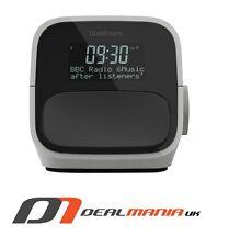 Goodmans DAB+ & FM Clock Radio with USB Charging - White