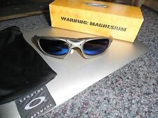 Oakley Magnesium Switch Titanium Ice Blue Iridium Sunglasses