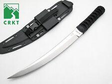 "CRKT Hisshou Knife 13.0"" 440A YK-30 High Carbon Steel Blade & Cord Wrap Handle"