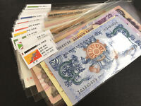 50 PCS of Different World MIX Foreign Banknotes Lot, Currency, UNC Free shipping