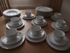 White Unmarked Porcelain & China