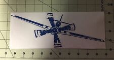 rc stickers- P-51 FRONT VIEW