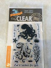 Hero Arts Color Layering Octopus Clear Acrylic Stamp Set CM104 NEW