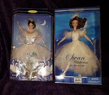 Classic Ballet Series Swan Lake Barbie as Swan Queen & as Swan Ballerina Nib