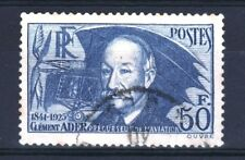 """FRANCE STAMP TIMBRE YVERT 398 """" CLEMENT ADER 50F OUTREMER """" OBLITERE TB  R861"""