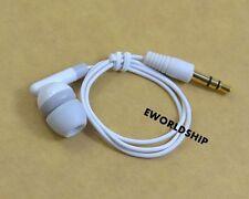 New Short Universal 3.5mm Mono Single Earphone Headset Headphone Earbud
