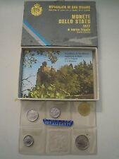 LOTTO MONETE DELLO STATO DI SAN MARINO 1977  (7)