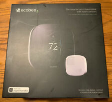 ecobee 3 Smart Wi-Fi Thermostat with Room Sensor