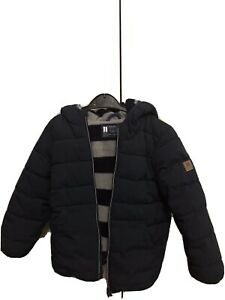 Next Boys Toddler Kids Navy Puffer Jacket Coat - 3-4 years