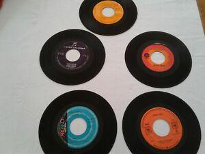 ESTELA NUNEZ, SONIA LOPEZ, NYDIA CARO - 45 RPM - 5 RECORD BUNDLE