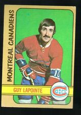 1971 - 1972 Topps Hockey Set GUY LAPOINTE Card