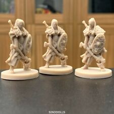 Lot 3  Figure For Kickstarter Exclusive For Dungeons & Dragon D&D Miniatures Toy