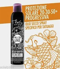 THAT SO PROTEZIONE ALL IN ONE TATTOO SPF 20-30-50 OLIO SECCO SPRAY CONTINUO