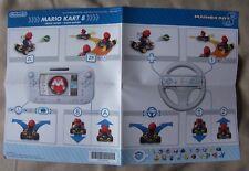 Nintendo Wii U Mario Kart 8 Quick Play Guide ONLY - NO GAME SOFTWARE mariokart