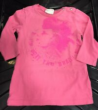 TEE SHIRT Rose Diesel BABY Fille- taille 9/12 mois -