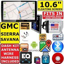"""2000-2012 CHEVY GMC TRUCK VAN 10.6"""" NAVIGATION BLUETOOTH USB CD/DVD CAR RADIO"""