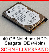 40GB Ide Notebook Hard Drive HDD seagate ST9402115A ST940210A 5400RpM 2,5 ""