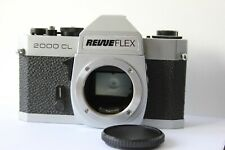 Revueflex 2000CL 35mm SLR Film Camera Body Only.Takes M42 Lenses. Tested working