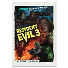 Resident Evil 3 Remake Poster - Movie Retro Style Art - High Quality Prints