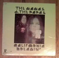 The Mamas & The Papas – California Dreamin' Vinyl Comp 33rpm Pickwick SPC3357