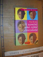 LIBRO - GLI UOMINI SONO COME IL CIOCCOLATO - GRUBE - SUPERPOCKET 2002 - NUOVO MA