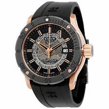 Edox 80099 37R NIR Men's Chronoffshore-1 Black Automatic  Watch