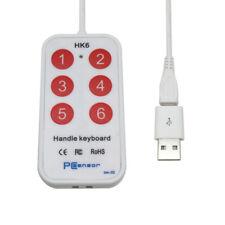 USB &Android phone custom keyboard Handle Keyboard,Mini Mouse,6 key,(HK_6 micro)
