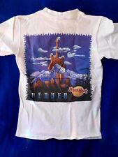Hard Rock Denver city t shirt HEAVY TEE men's size XSMALL