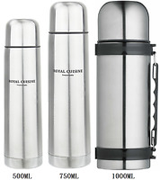 Stainless Steel Vacuum Drink Flask Bottle Insulated Double Wall Travel Mug Cup