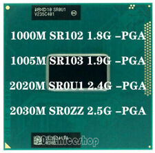 lntel Pentium Dual-Core 1000M SR102 1005M 2020M SR0U1 2030M SR0Z Socket G2 CPU