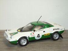 Lancia Stratos Rally H.Thorszelius / B.Waldegaard - Minichamps 1:43 *33282