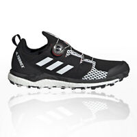 adidas Mens Terrex Agravic Boa Trail Running Shoes Trainers Sneakers Black